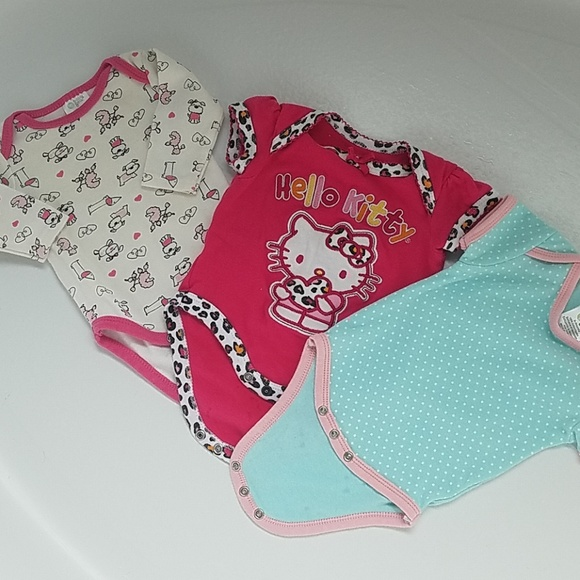 7af29840e Hello Kitty One Pieces | Bundle Of 3 Baby Onesies | Poshmark